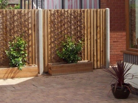 Wooden Fencing Installation Worcester